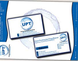 #6 untuk Design a letterhead and business cards for a plumbing and tiling company oleh babaprops