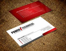 #9 untuk Design some Business Cards for Power technical oleh ezesol