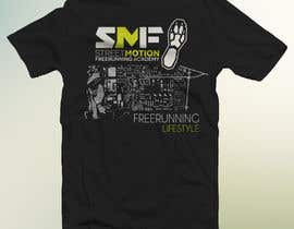 #23 para Design a T-Shirt for Parkour/Freerunning por publismart