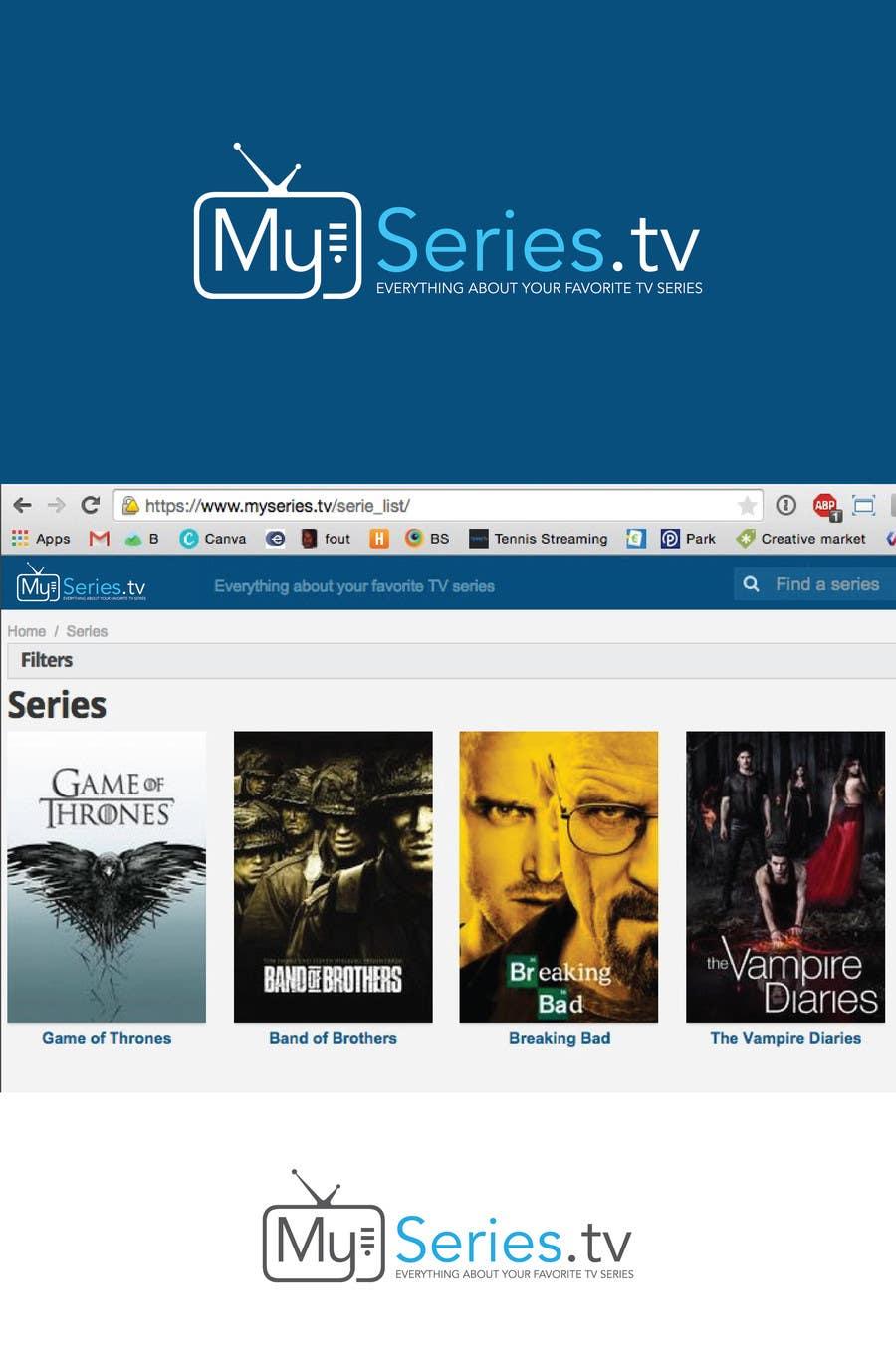Konkurrenceindlæg #                                        22                                      for                                         Design a Logo for a website about TV series
