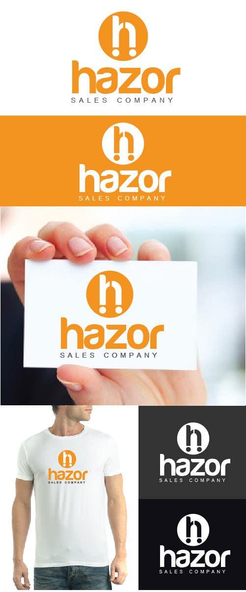 """Inscrição nº 94 do Concurso para Design company Logo """"Hazor"""""""