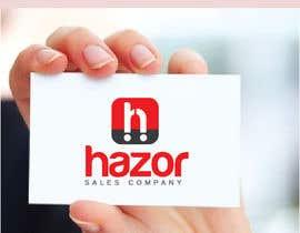 """nº 96 pour Design company Logo """"Hazor"""" par alexandracol"""