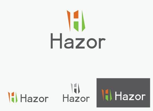 """Konkurrenceindlæg #54 for Design company Logo """"Hazor"""""""