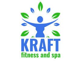 #15 untuk Design a Logo for KRAFT fitness and spa oleh patartics