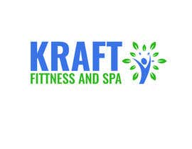 #17 untuk Design a Logo for KRAFT fitness and spa oleh patartics
