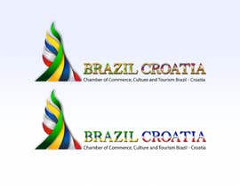 #36 for Logo for Brazil-Croatia Chamber of Commerce by andrewdigger