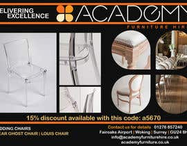 "#8 cho Wedding Show ""Product & Discount Flyer"" - Academy Furniture Hire bởi rarayut"