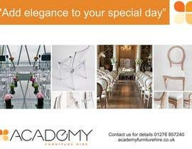 "#4 for Wedding Show ""Product & Discount Flyer"" - Academy Furniture Hire af purvaz"