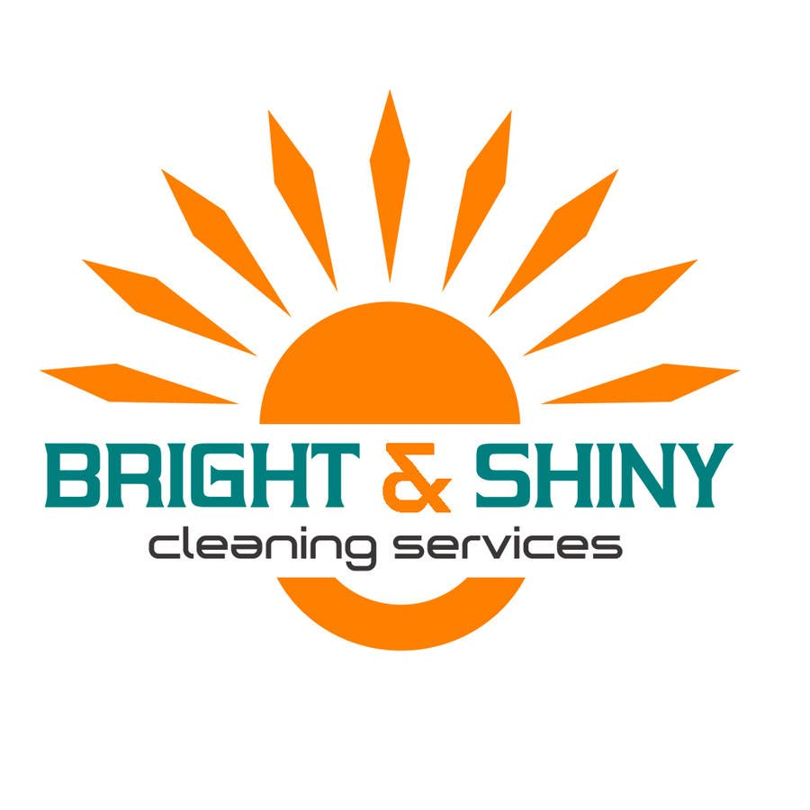 #161 for Design a Simple Logo for Bright & Shiny Cleaning Services by arshidkv12