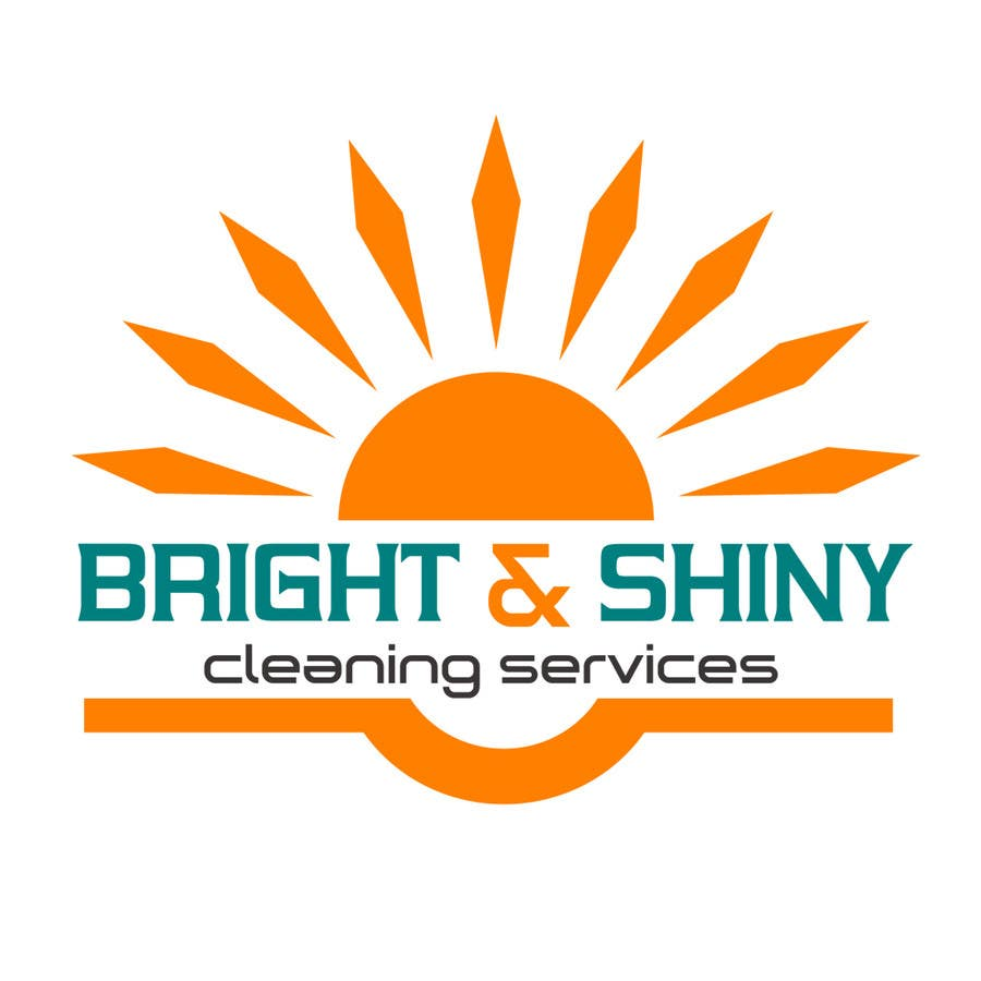 #164 for Design a Simple Logo for Bright & Shiny Cleaning Services by arshidkv12