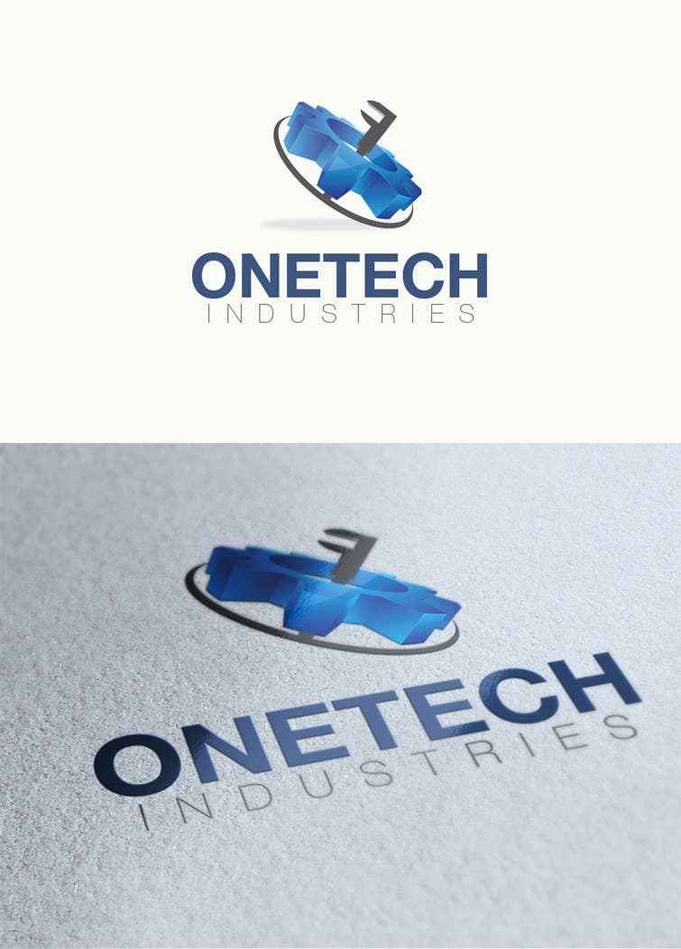 #5 for onetech industries logo design by alinhd