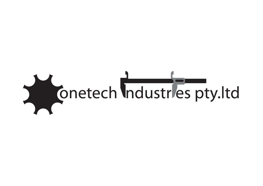 #2 for onetech industries logo design by man25081983os