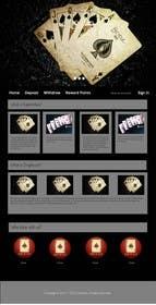 Nro 4 kilpailuun Design a poker website + BONUS käyttäjältä Dumiwap
