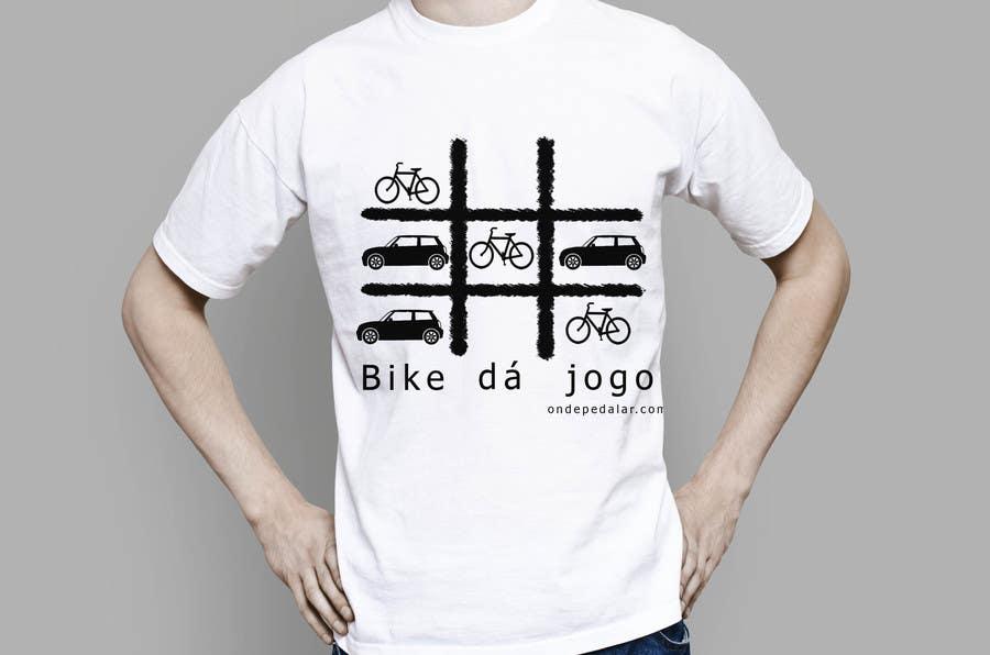 Contest Entry #                                        8                                      for                                         Criar uma Camiseta para Bicicleta