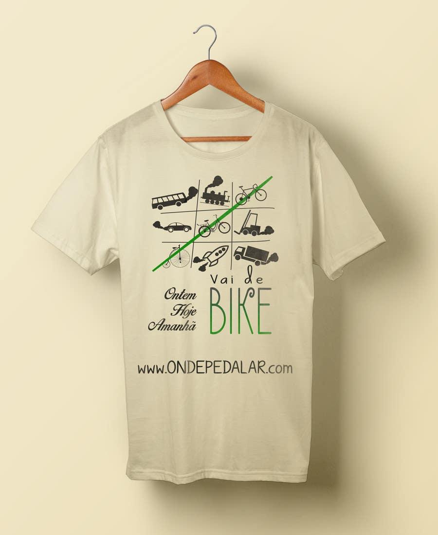 Contest Entry #29 for Criar uma Camiseta para Bicicleta