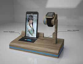 #29 cho Design and Create a 3d iwatch wooden prototype bởi arkRogelio