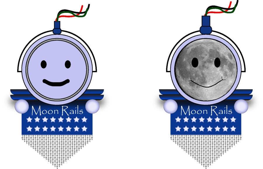 Inscrição nº 17 do Concurso para Design a Logo for MoonRails