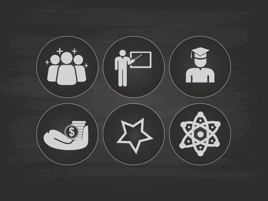 Kilpailutyö #7 kilpailussa Design 5 Template Badges