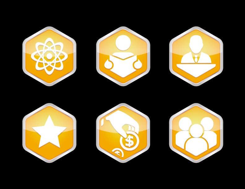 Kilpailutyö #3 kilpailussa Design 5 Template Badges