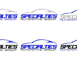 #27 para Design a Logo for Specialties Automotive Group, LLC por francidesigns