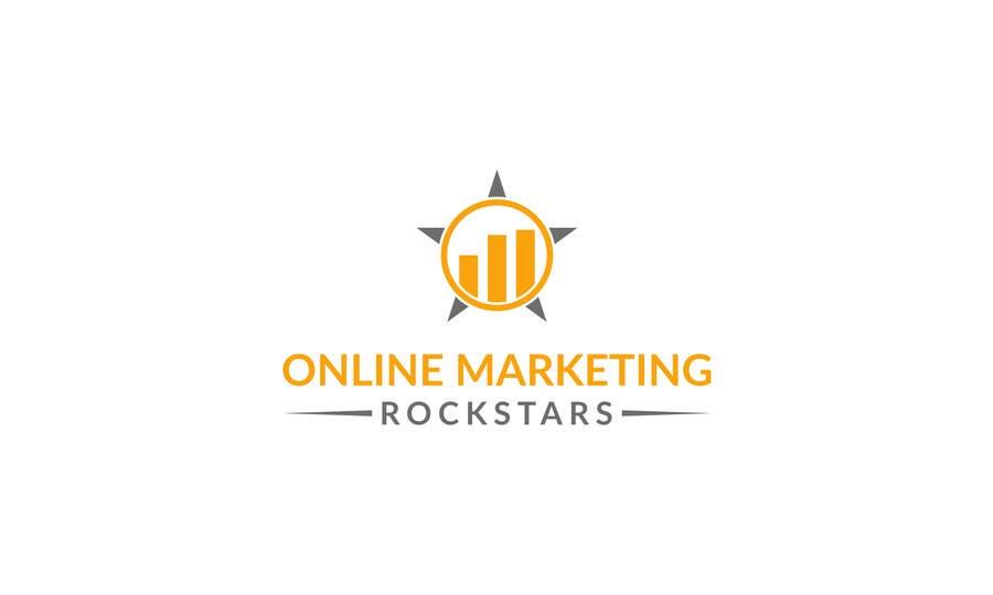 Contest Entry #                                        82                                      for                                         Ontwerp een Logo for Online Marketing Rockstars