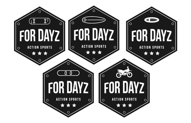 """Contest Entry #                                        675                                      for                                         Design a Logo for """"for dayz"""" action sports brand"""