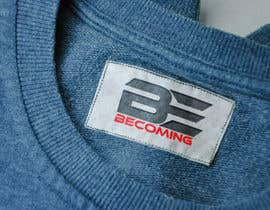 "hey24sheep tarafından Design a Logo for ""Becoming"" Gym Clothing için no 4"