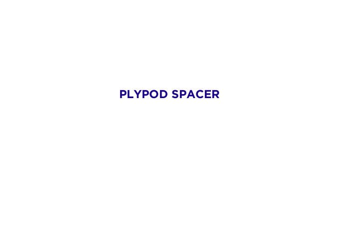 Bài tham dự cuộc thi #93 cho Create Brand Name for Plastic Pod Spacer