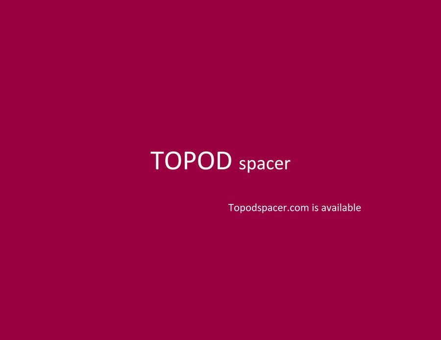 Konkurrenceindlæg #                                        102                                      for                                         Create Brand Name for Plastic Pod Spacer