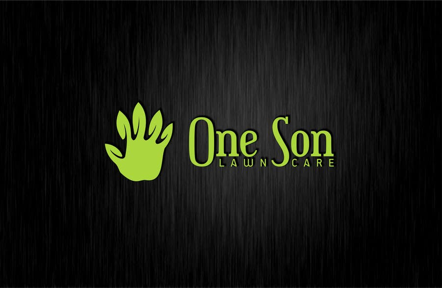 Penyertaan Peraduan #34 untuk Show me what you got! Design a Logo for my new company One Son Lawn Care