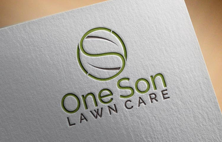 Penyertaan Peraduan #14 untuk Show me what you got! Design a Logo for my new company One Son Lawn Care