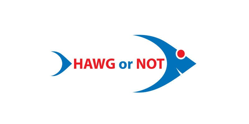 Contest Entry #                                        5                                      for                                         Design a Logo for my Fish Blog (Hawg or Not)
