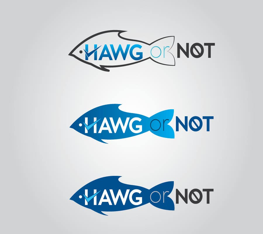 Contest Entry #                                        19                                      for                                         Design a Logo for my Fish Blog (Hawg or Not)