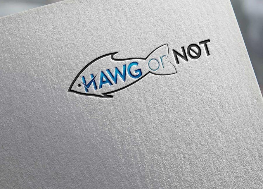 Contest Entry #                                        21                                      for                                         Design a Logo for my Fish Blog (Hawg or Not)