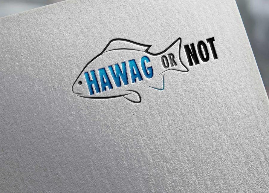 Contest Entry #                                        28                                      for                                         Design a Logo for my Fish Blog (Hawg or Not)