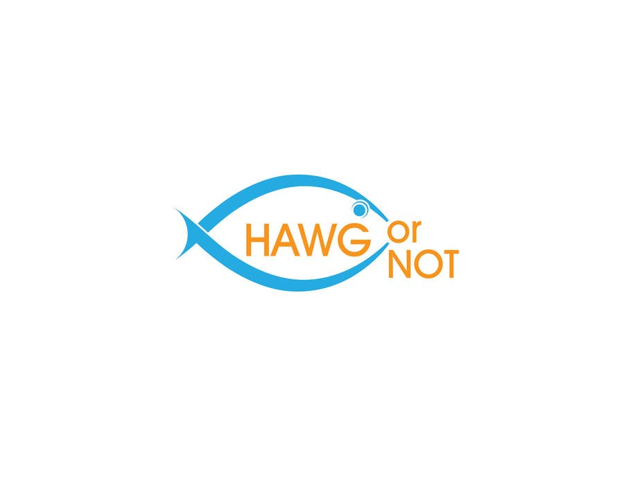 Contest Entry #                                        8                                      for                                         Design a Logo for my Fish Blog (Hawg or Not)