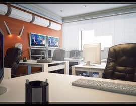 #41 para Design a high tech stock trading room por PixelCandyStudio