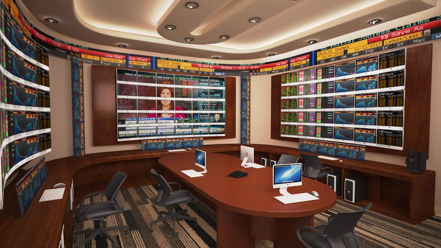 Proposition n°23 du concours Design a high tech stock trading room