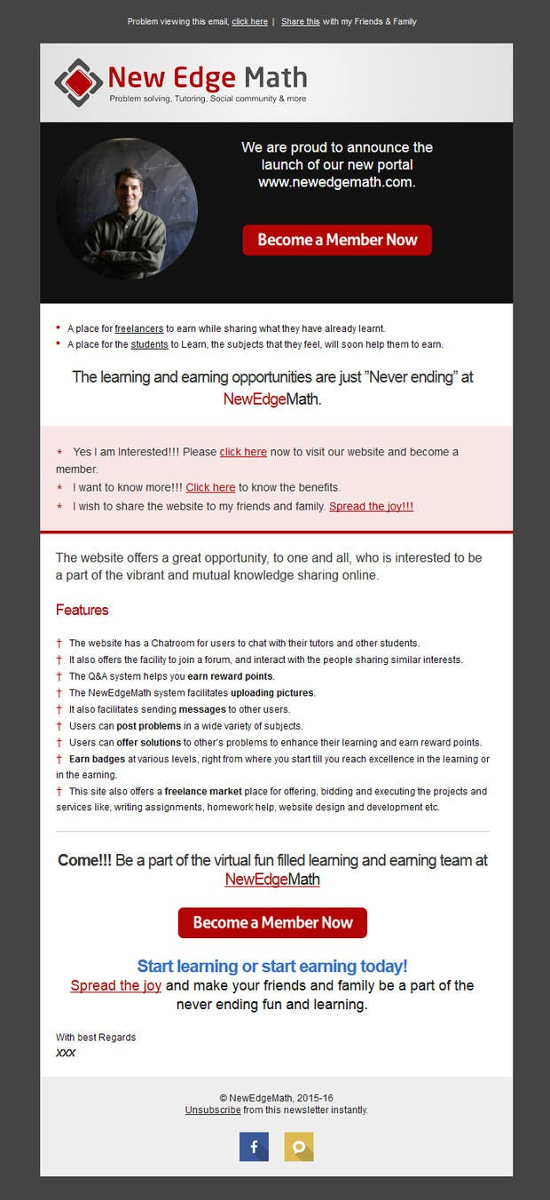 Konkurrenceindlæg #                                        14                                      for                                         Design email template and rewrite email content