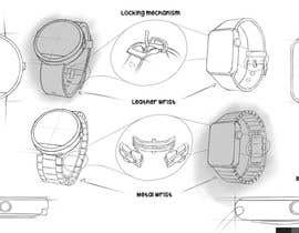 XFrank tarafından Industrial Sketch for Smart Watch için no 4