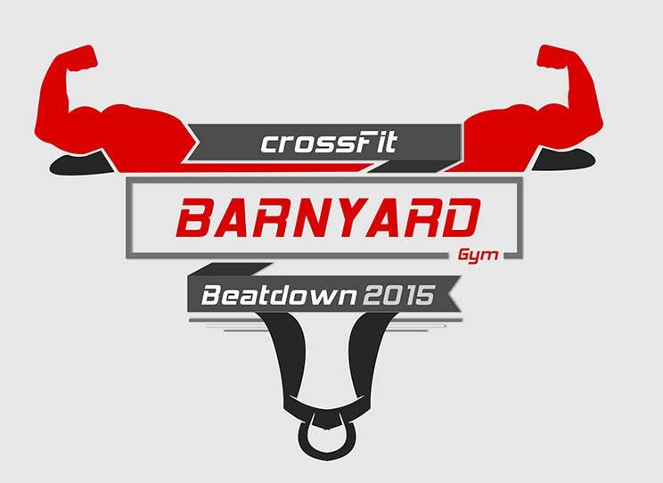 Konkurrenceindlæg #                                        12                                      for                                         Barnyard Beatdown CrossFit Competition Logo