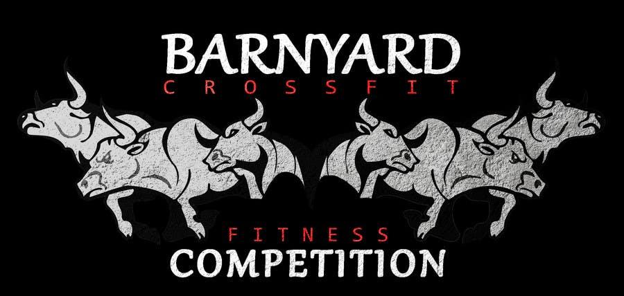 Konkurrenceindlæg #                                        4                                      for                                         Barnyard Beatdown CrossFit Competition Logo
