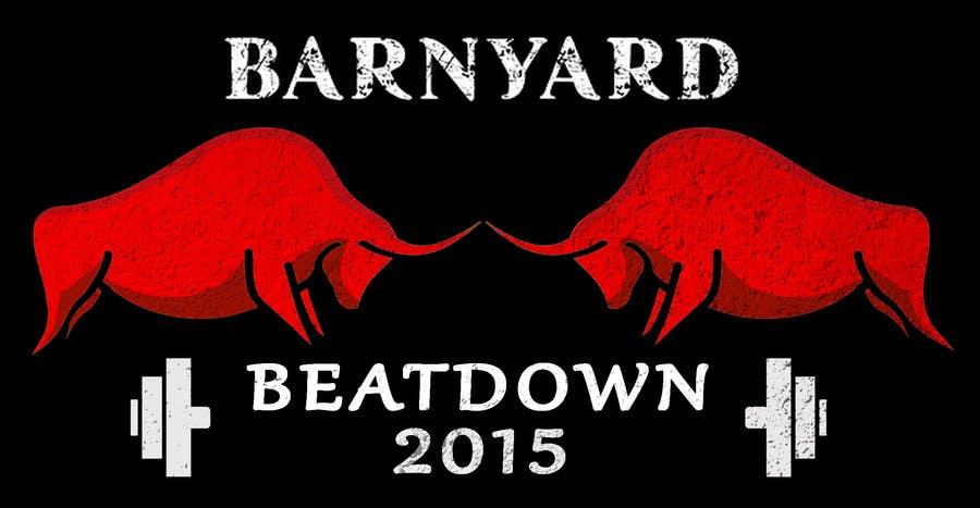 Konkurrenceindlæg #                                        7                                      for                                         Barnyard Beatdown CrossFit Competition Logo