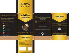 #19 for LOGO and PACKAGING GRAPHIC DESIGN for our new product: BOX of coffee and tea capsules AROMA SELEZIONE by Aleshander