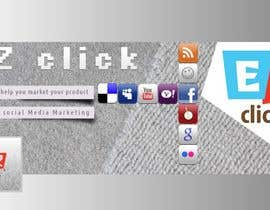 #10 cho Design a Cool Banner For Ez-Clicks bởi silverXblood
