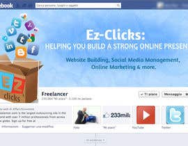 #14 untuk Design a Cool Banner For Ez-Clicks oleh holecreative