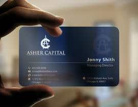 imtiazmahmud80 tarafından Design some Business Cards for Asher Capital için no 124