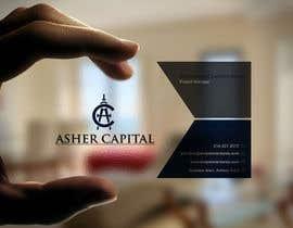 gohardecent tarafından Design some Business Cards for Asher Capital için no 85