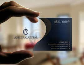 #174 para Design some Business Cards for Asher Capital por gohardecent