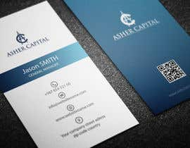 #91 para Design some Business Cards for Asher Capital por Fgny85